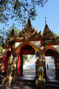 泰国庙建筑