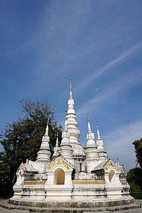 泰国寺庙塔楼