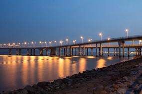 深圳湾大桥夜景