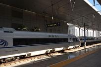 天津高铁和谐号