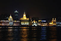 大上海黄浦江夜景