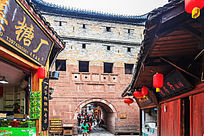 凤凰城古楼升恒门景观