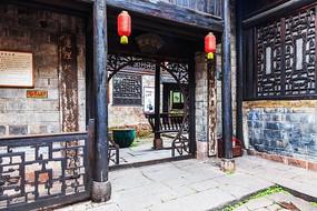凤凰古城的四觉草堂建筑