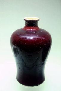 红柚细口大肚陶瓷瓶