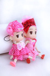 美女装饰娃娃