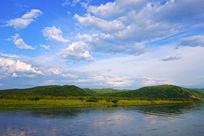 清澈的额尔古纳河
