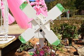 欧式婚庆布置风车信箱