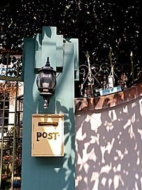 老式信报箱邮箱