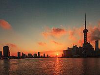 日出黄浦江