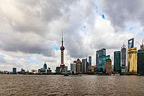 上海陆家嘴高层建筑风景