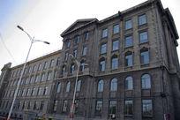 大学校园欧式建筑