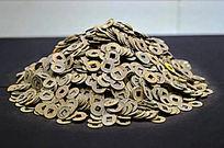 海昏侯墓遗址铜钱堆