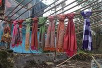 民族特色的围巾