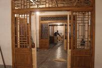 中式餐厅中式门隔断