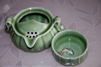 陶瓷茶杯图片