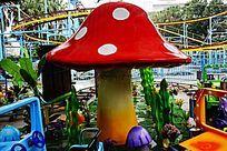 动漫小蘑菇