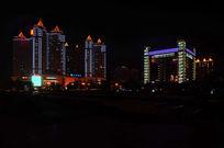 城市建筑夜晚美景