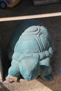 绿乌龟石雕