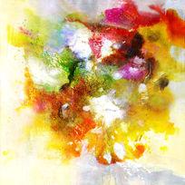 抽象油画高清图片