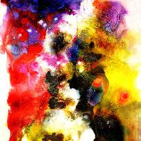 漂亮的抽象油画