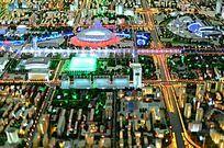2008奥运会场地规划沙盘