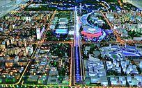 奥林匹克公园俯瞰规划图