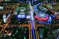 奥林匹克公园全景俯瞰图