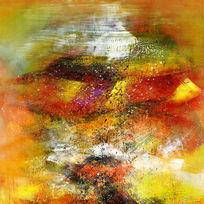 现代简约抽象油画