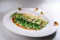 虫草鲜鱼白菜卷