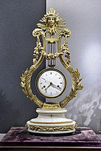 清广造铜镀金西洋钟