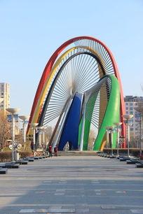 秦皇岛森林体育公园标志建筑