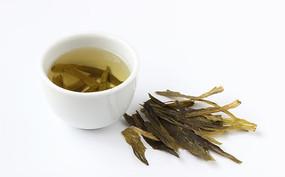太平猴魁菜叶和茶汤