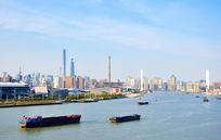 上海黄浦江风光