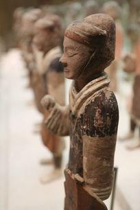 队列 骑兵 兵马俑 秦朝 馆藏 国博 国家博物馆 艺术文化 文物  古董