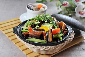 腊豆青瓜鳝鱼煲