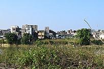 乡村小镇的古建筑