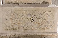 传统图案人物浮雕