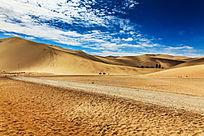 沙漠的自然风光