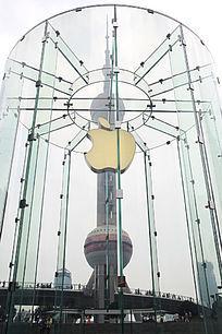 陆家嘴苹果专卖店