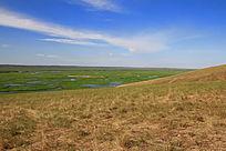 额尔古纳湿地景物