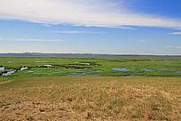 额尔古纳湿地景象
