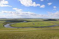额尔古纳湿地景致