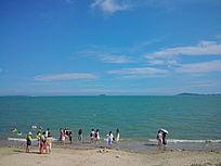沙滩边风景