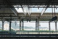 温州动车站站台结构