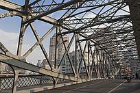 浙江路桥鱼腹式简支梁钢桁架