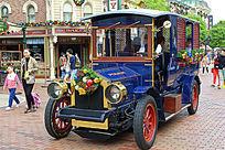 迪斯尼游客观光车
