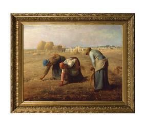 梵高油画 拾麦穗的女人 (超清)