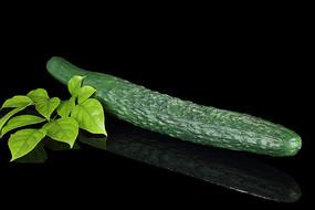 清代黄瓜形仿生瓷