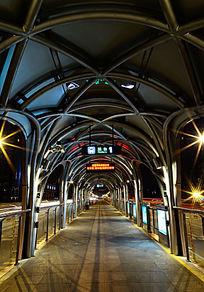 BRT钢结构站台