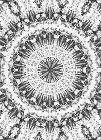 黑白数码印花